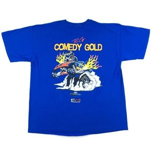 NHRA Napa Racing Ron Capps 'Comedy Gold' T-Shirt